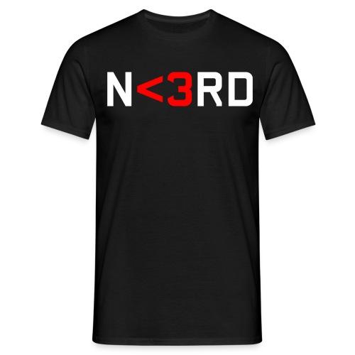 nerd 1 - T-shirt herr