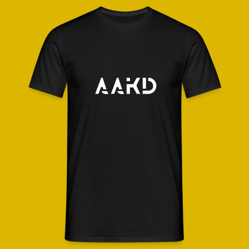 AAKD Logo in weiß - Männer T-Shirt