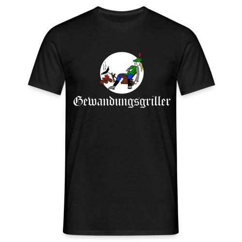 Gewandungsgriller (weiße Schrift) - Männer T-Shirt