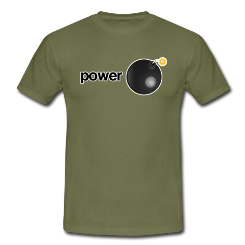 powerbomb - Men's T-Shirt