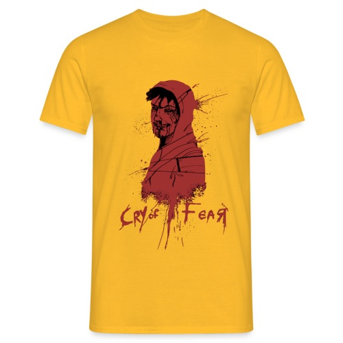 Cry of Fear - Design 4 - Men's T-Shirt