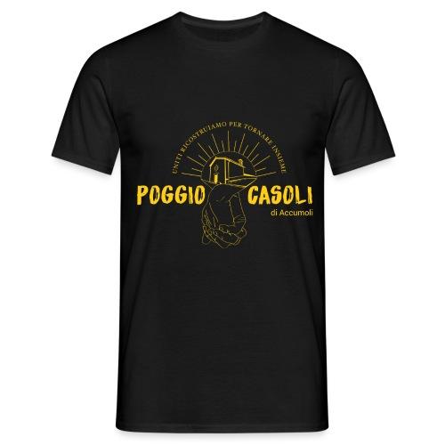 Poggio Casoli_Istituzionale_Giallo - Maglietta da uomo
