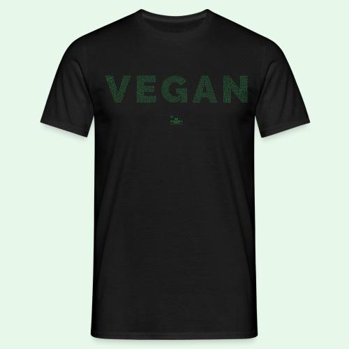 Vegan - Green - T-shirt herr