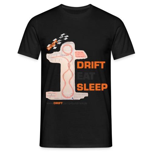 Strecke Juli 2015 Design gif - Männer T-Shirt