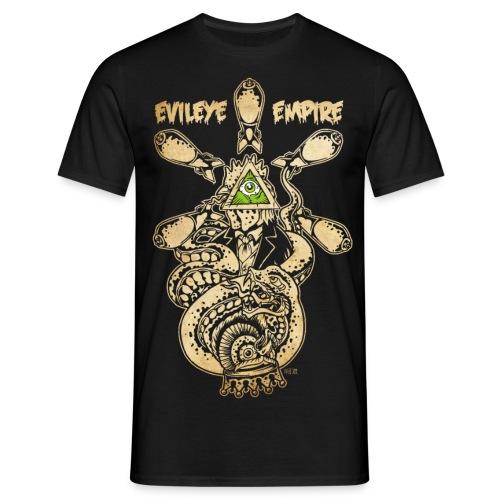 owlrooster gif - Männer T-Shirt
