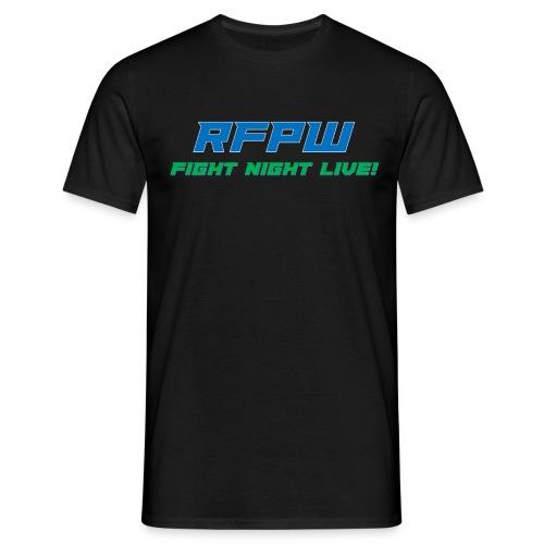 RFPW Fight Night LIVE - Men's T-Shirt