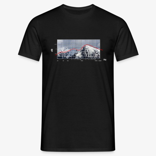 Frequency Alpin Response - Mörk - T-shirt herr