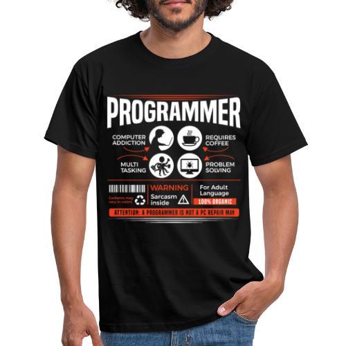 Vie de programmeur - T-shirt Homme