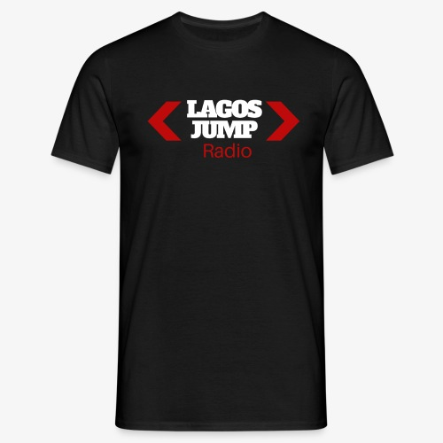 LagosJump Radio (White) 1 - Men's T-Shirt