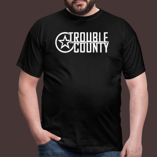 Trouble County Logo - Men's T-Shirt