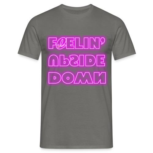 FeelinUpsideDown Neon - Maglietta da uomo
