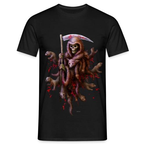 Death loves Fur - Männer T-Shirt
