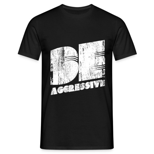 'BE AGGRESSIVE' Fitness, Workout, Gym - Männer T-Shirt