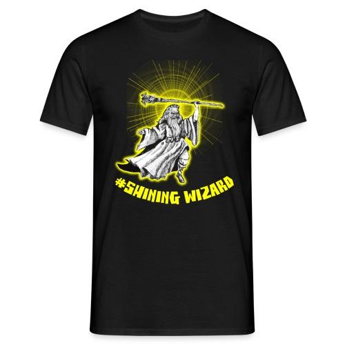 shining wizard - Men's T-Shirt