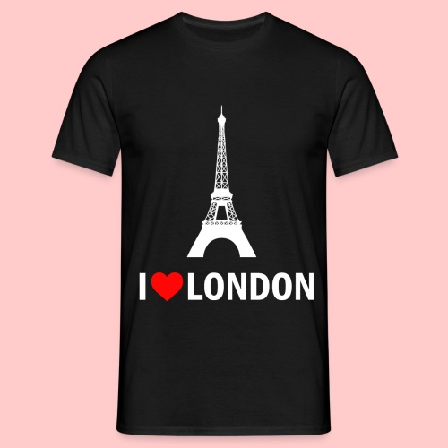 LONDON png - Mannen T-shirt