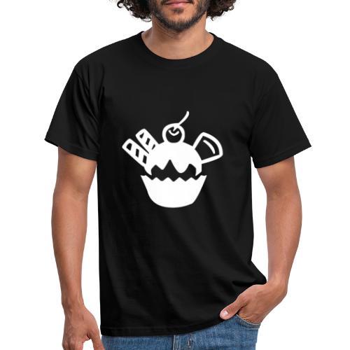 Eis und Eiscreme Symbol - Männer T-Shirt