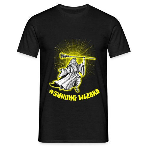 shining wizard - Men's T-Shirt