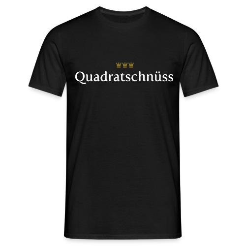 Quadratschnuess (Köln/Kölsch/Karneval) - Männer T-Shirt