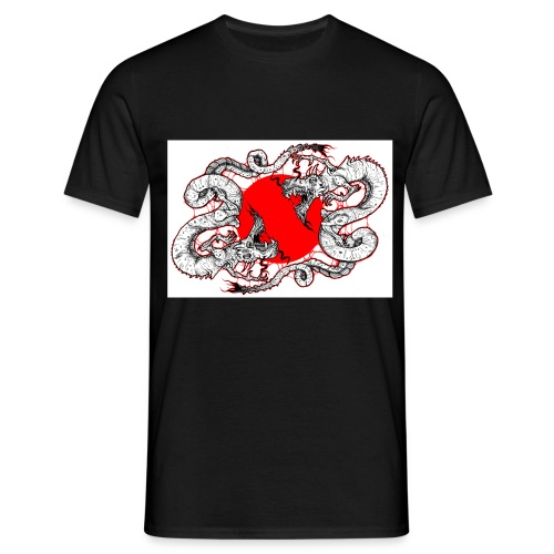 dragons jpg - Men's T-Shirt