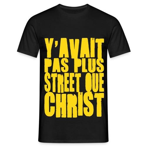 Pas Plus Street Blanc - T-shirt Homme