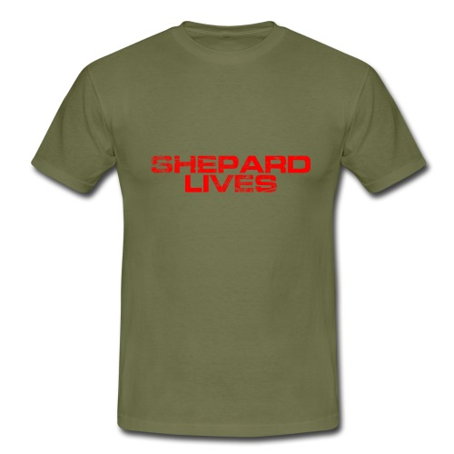 Shepard lives - Men's T-Shirt