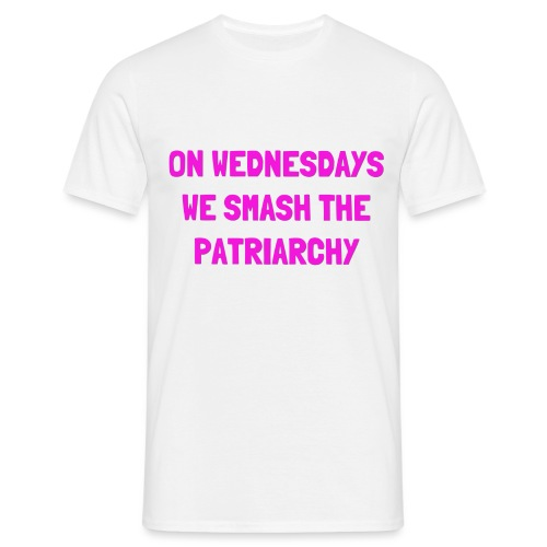 SMASH THE PATRIARCHY - Herre-T-shirt