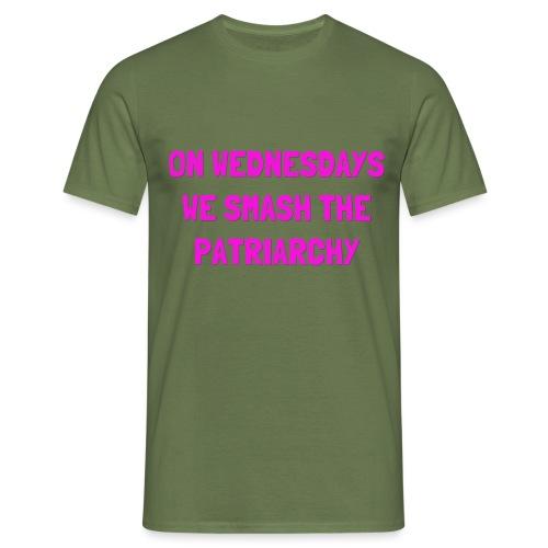 SMASH THE PATRIARCHY - Herre-T-shirt