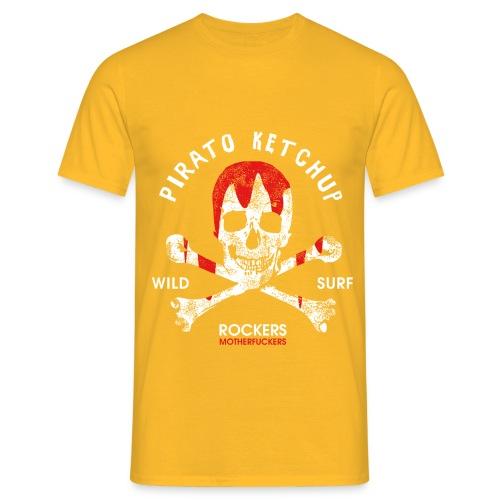 Pirato Ketchup Skull - Men's T-Shirt