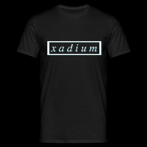 Blue Backshadow - Men's T-Shirt