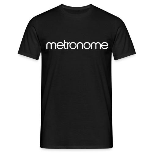 metronomelogo - Men's T-Shirt