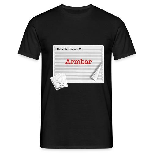 hold2 armbar - Men's T-Shirt