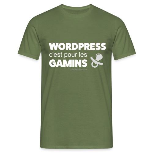WP c'est pour les gamins - T-shirt Homme