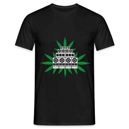 Ganja Sound System - Men's T-Shirt