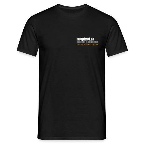 netpixel at Logo - Männer T-Shirt