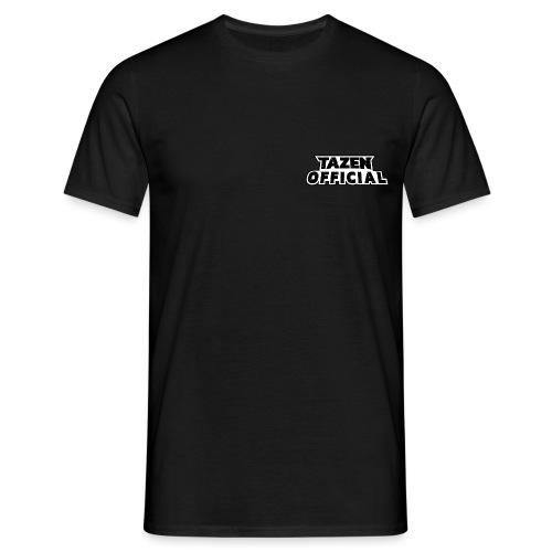TazenOfficialText - Herre-T-shirt
