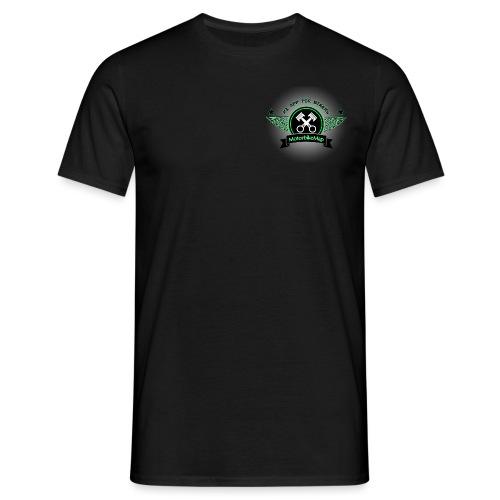 MotorbikeMap Shine - Männer T-Shirt