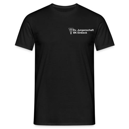 Schwertkreuz mit Text - Männer T-Shirt
