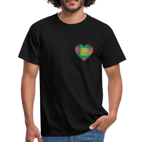 HH with a Heart - Men's T-Shirt