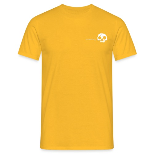 serigrafia teschio - Men's T-Shirt