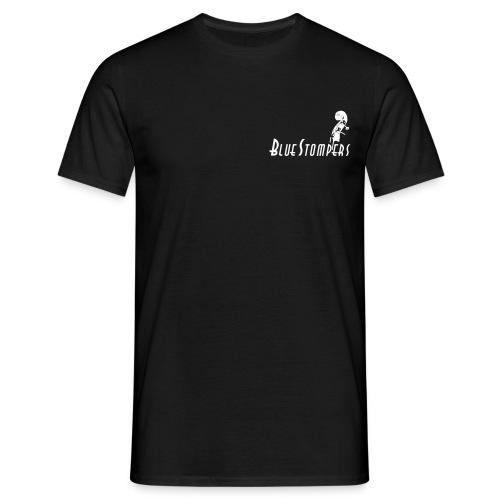 logga bashuvud med stort s - T-shirt herr