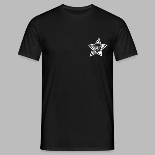 TrekstarzLogoWhite png - Männer T-Shirt