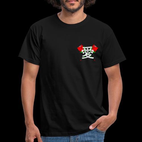 LAGOON XL - LOVE ROSES - T-shirt Homme