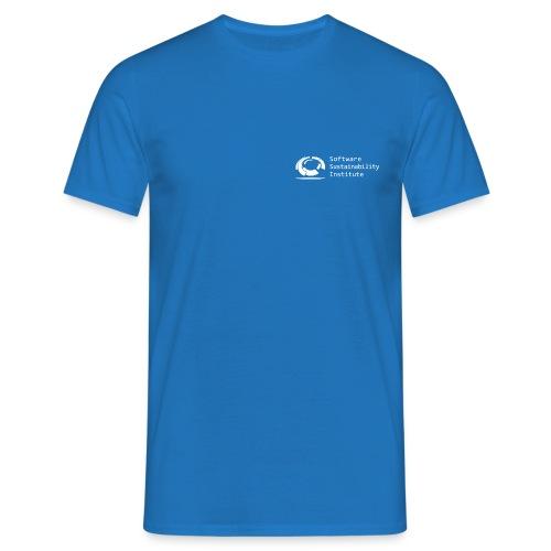 SSI LogoWhite png - Men's T-Shirt