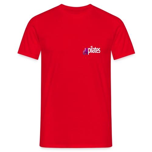D4 Pilates - White logo - Men's T-Shirt