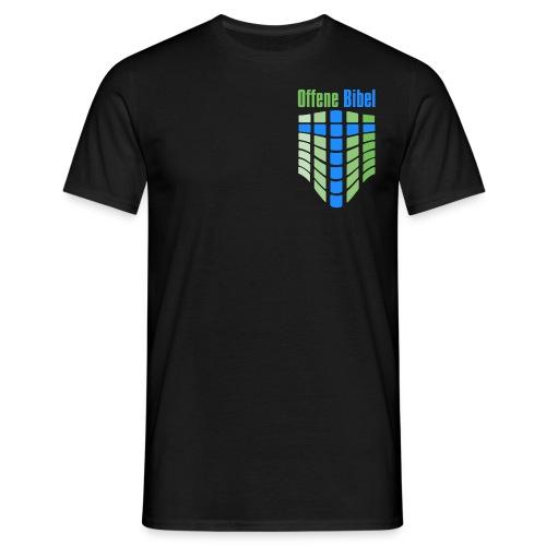 logo hoch - Männer T-Shirt
