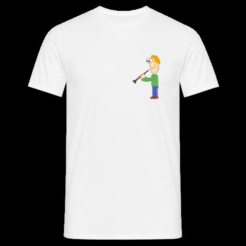 oboe man - Männer T-Shirt