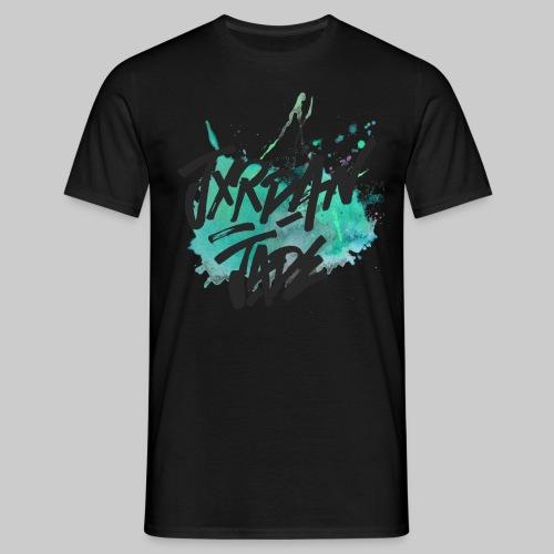 Splash Black - Men's T-Shirt