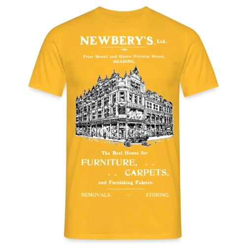 Newbery's Furniture Shop Reading - Men's T-Shirt