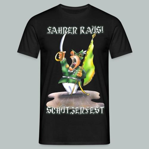 Fahnen raus! Schützenfest - Männer T-Shirt