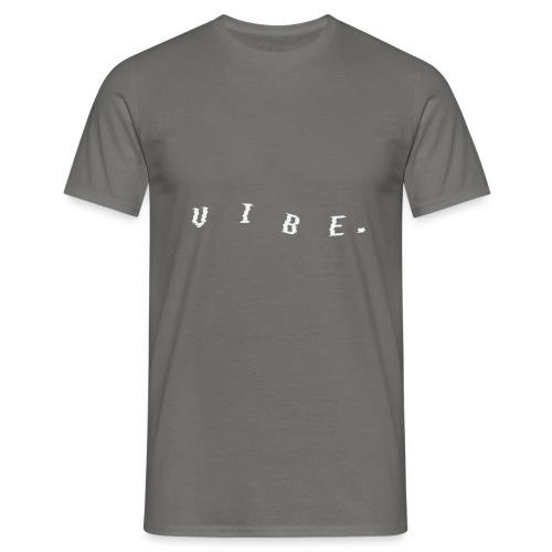 VIBE. 'VIBE.' White Design - Men's T-Shirt